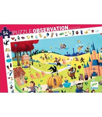 Djeco Djeco | Observation Puzzle | Tales | 54 stukjes | 4+