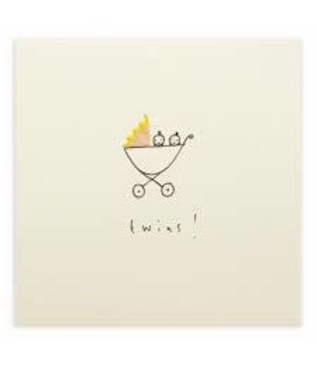 Pencil Shavings Cards by Ruth Jackson | Twins !