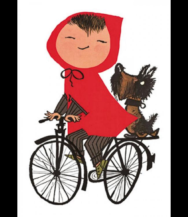 Bekking & Blitz   Fiep Westendorp   Meisje op de fiets