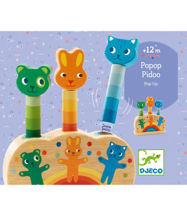 Djeco   Pop up Toy   Pipop Pidoo   1+