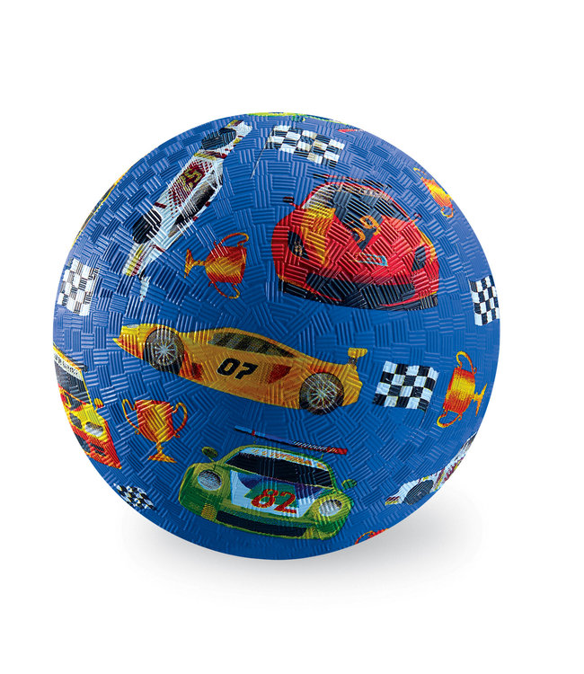 Crocodile Creek | Rubber Playball | 18 cm | At the Races | 3+