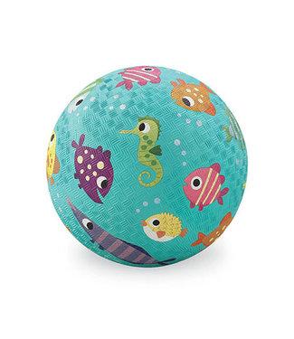 Crocodile Creek Crocodile Creek | Rubber Playball | 18 cm | Fish | 3+