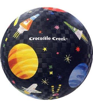 Crocodile Creek Crocodile Creek   Rubber Playball   Space Exploration   18 cm  3+