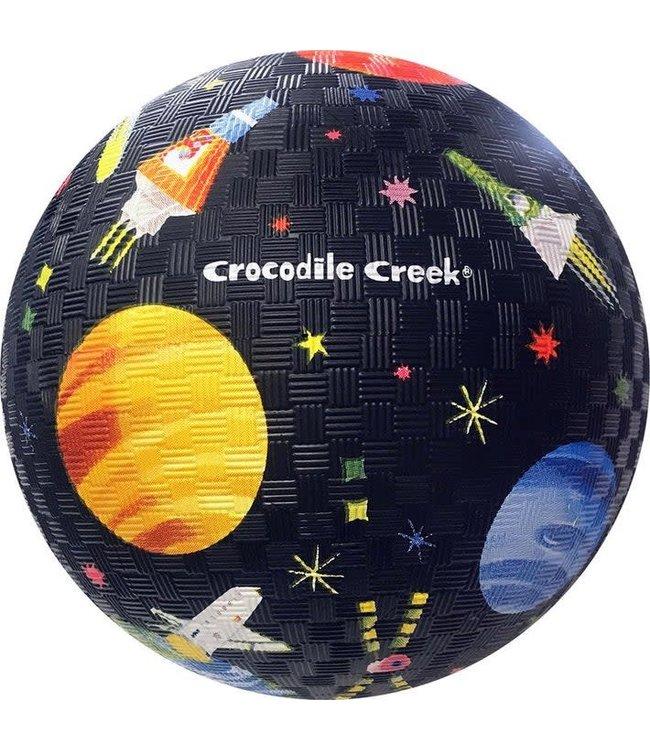 Crocodile Creek   Rubber Playball   Space Exploration   18 cm  3+