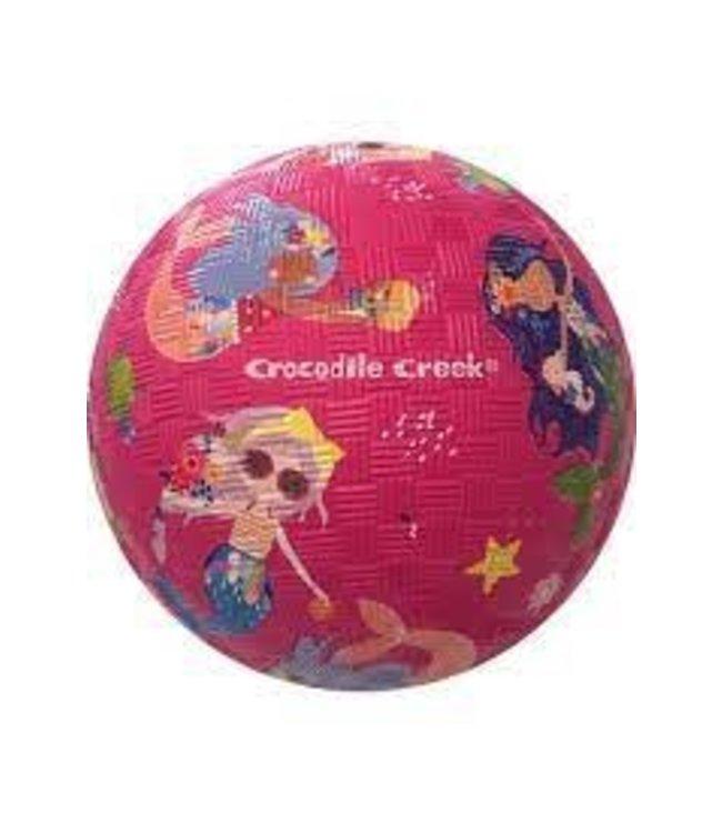 Crocodile Creek   Rubber Playball   13 cm   Mermaids   3+