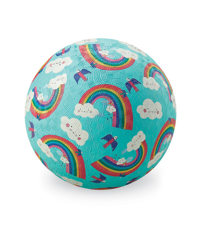 Crocodile Creek   Rubber Playball   13 cm   Rainbow Dreams   3+