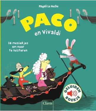 Clavis Clavis   Geluidenboekje   Paco en Vivaldi   3+