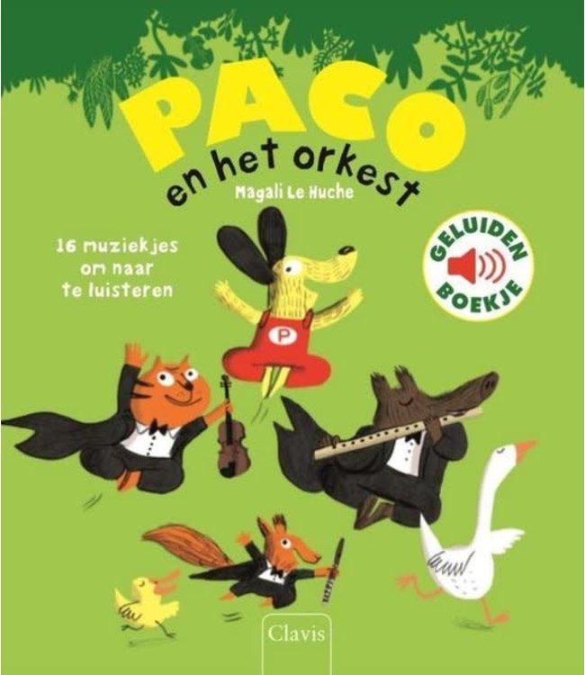 Clavis   Geluidenboekje   Paco en het Orkest   3+