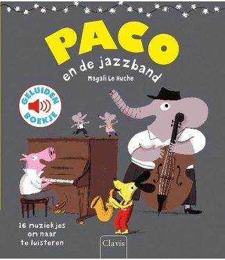 Clavis Clavis | Geluidenboek | Paco en de Jazzband | 3+
