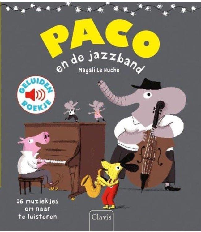 Clavis | Geluidenboek | Paco en de Jazzband | 3+