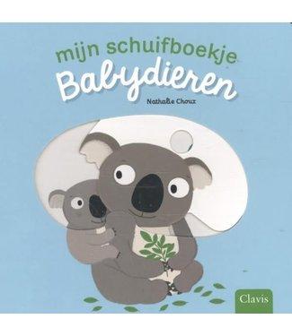 Clavis Clavis   Mijn schuifboekje   Babydieren   1+