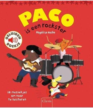 Clavis Clavis   Geluidenboekje   Paco is een Rockster   3+