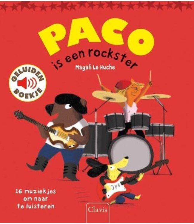 Clavis   Geluidenboekje   Paco is een Rockster   3+