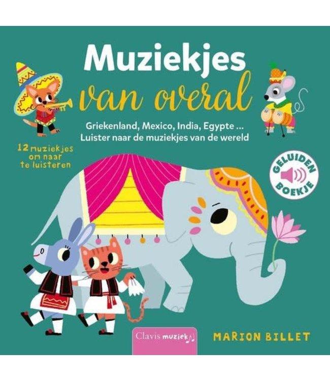 Clavis   Geluidenboekje   Muziekjes van overal   2+