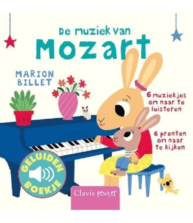 Clavis | Geluidenboekje | De muziek van Mozart | 1+