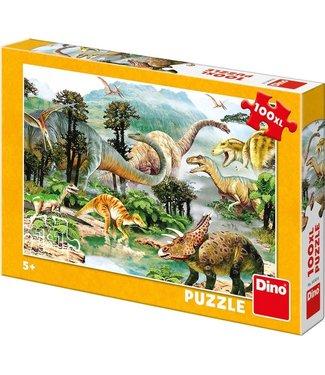 Dino Toys Dino Toys | Puzzel | Live of the Dinosaurs | 100 stukjes | 5+