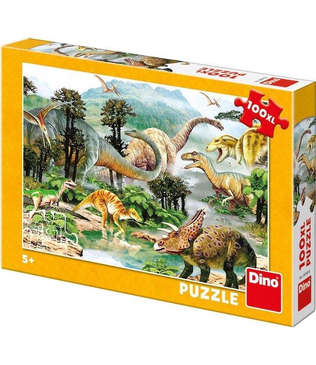 Dino Toys   Puzzel   Live of the Dinosaurs   100 stukjes   5+
