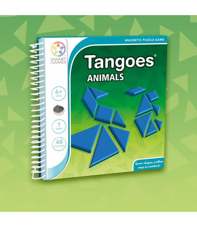 Smartgames   Magnetic Travel Game   Tangoes   Animals   6+