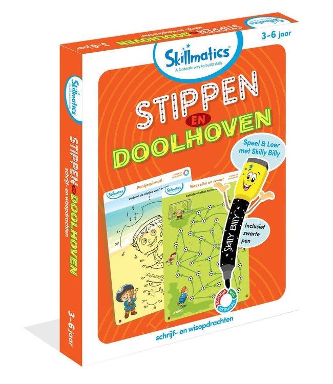 Skillmatics   Stippen en Doolhoven   3 - 6 jaar