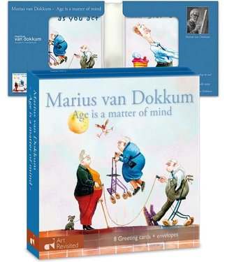 Art Revisited   Marius van Dokkum   Age is a matter of mind   8 kaarten