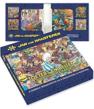 Art Revisited   Jan van Haasteren   Toeters en Bellen    8 kaarten