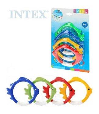 Intex Intex | Duikringen | Vis  | 4 delig | 6+