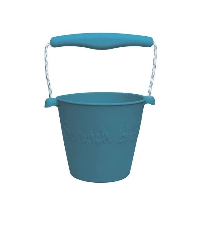Scrunch   Opvouwbare Emmer   1,5 liter   15 cm   Grijsblauw   3+