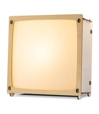 Het Houtlokael | Toverlamp | Wissellamp | inclusief 1 afbeelding