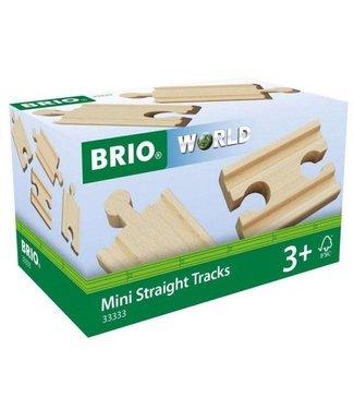 Brio Brio   4 x Straight Track   1/4   3+