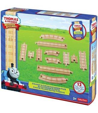 Thomas and Friends   Wooden Railway   Uitbreidingspakket voor rechte en bochten