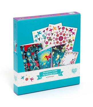Djeco Djeco | My Stationairy Kit | Violette | 7-13 jaar