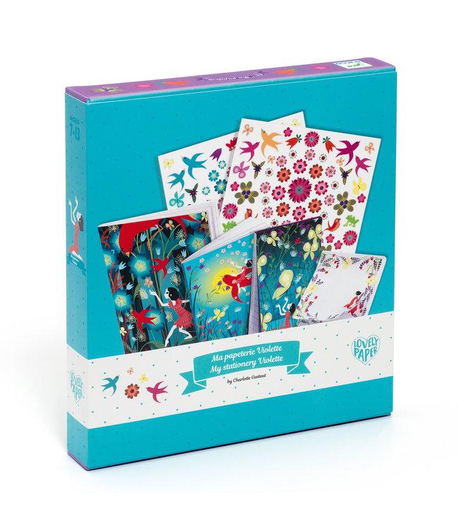 Djeco | My Stationairy Kit | Violette | 7-13 jaar