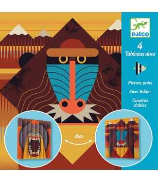 Djeco Djeco | Origami | Pictures Pairs | Wildlife | 7 - 12 jaar