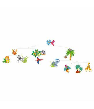 Djeco Djeco   Decoratieve Mobile   Jungle World