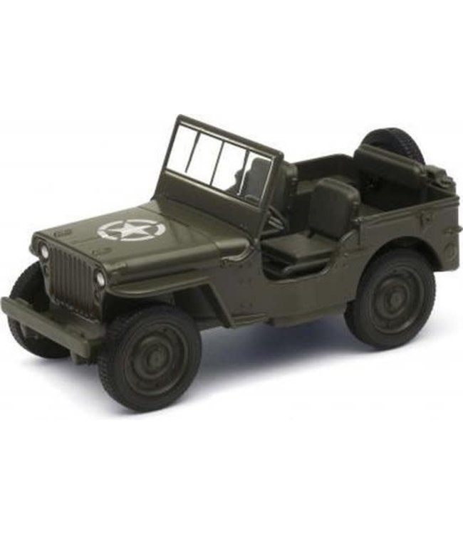 Welly   Jeep Willys MB   1:34   12 cm   3+