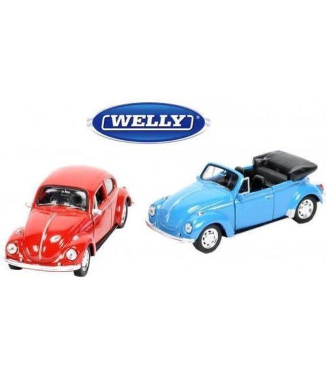Welly   VW Beetle   Cabrio/ Beetle 4   12 cm   3+
