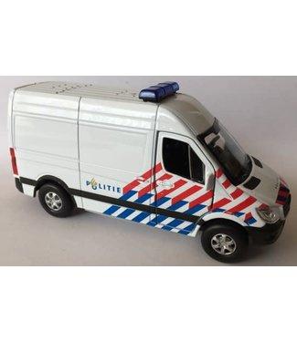 Welly Welly   Mercedes Benz   Sprinter Panel   Politie   12 cm   3+