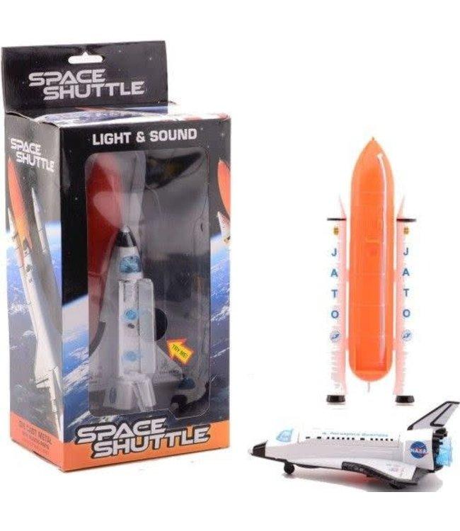 Johntoy   Spaceshuttle   met licht en geluid   19 cm   3+