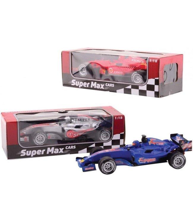 Johntoy | Super Max cars | Raceauto | 1:18 | met licht en geluid | 26 cm | 3+