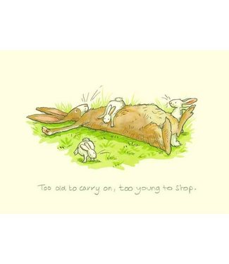 Two Bad Mice | Anita Jeram | Too old to carry on, too young to stop.