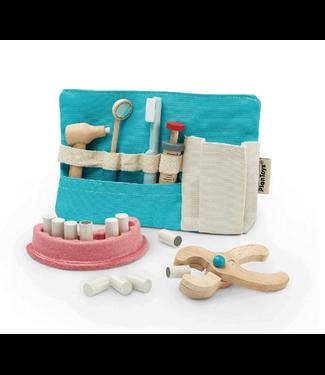 Plan Toys Plan Toys | Houten Tandarts Set | 9 delig | 3+