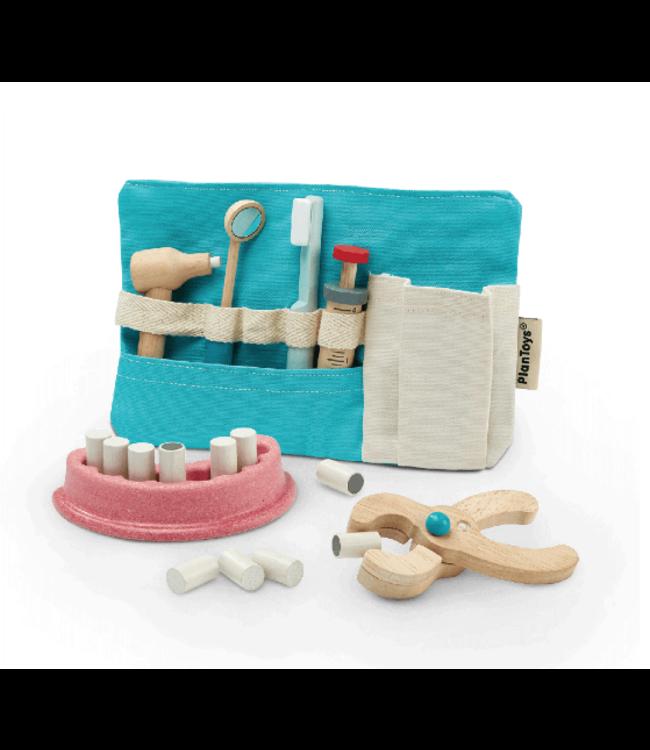 Plan Toys | Houten Tandarts Set | 9 delig | 3+