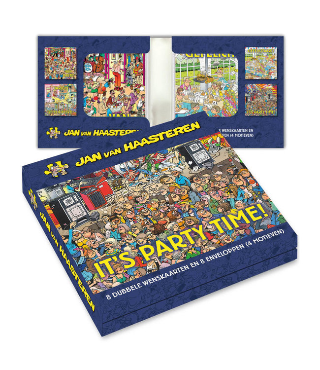 Art Revisited   Jan van Haasteren   4  x 2   It's Party Time!