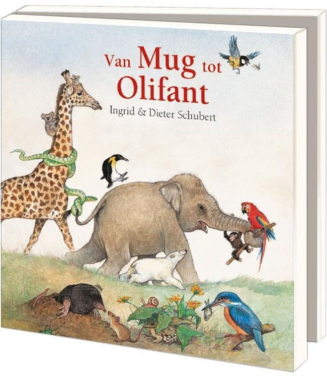 Bekking & Blitz   Kaartenmapje   Ingrid & Dieter Schubert   Uit 'van Mug tot Olifant'