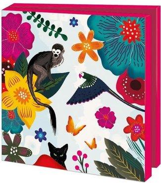Bekking & Blitz Bekking & Blitz | Kaartenmapje | Frida Kahlo - Dieren