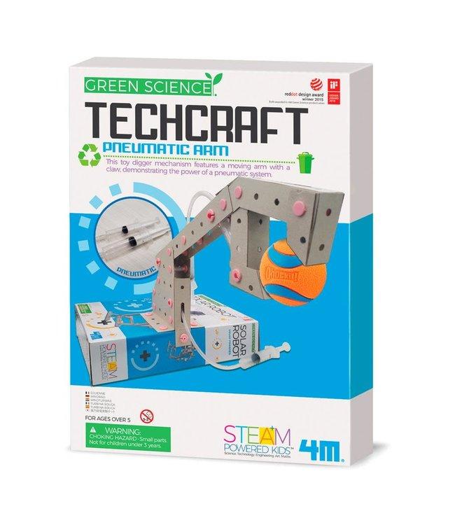 4M Kidzlabs   Green Toys   Techcraft   Pneumatische  Arm   5+