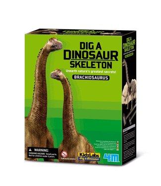 4M 4M KidzLabs | Graaf je dinosaurus op | Brachiosaurus | 8+
