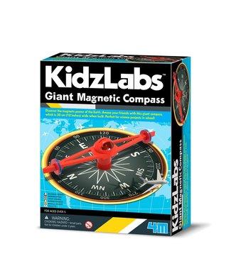 4M 4M Kidzlabs | Gigantisch Magnetich Compass | 5+