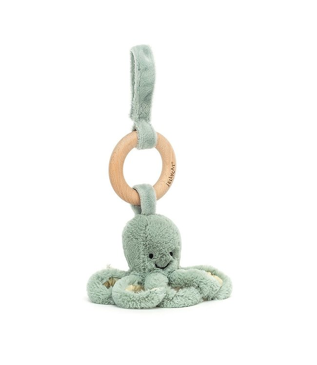 Jellycat | Odyssey Octopus | Wooden Ring Toy | 0+