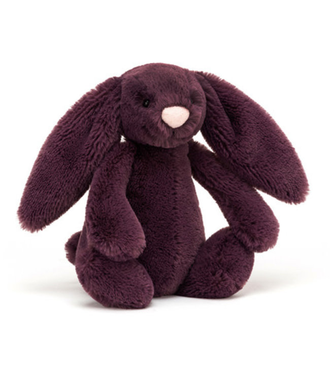 Jellycat   Bashful Bunny   Plum   Small   18 cm   0+